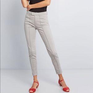 ModCloth The Richmond Pant - Gray